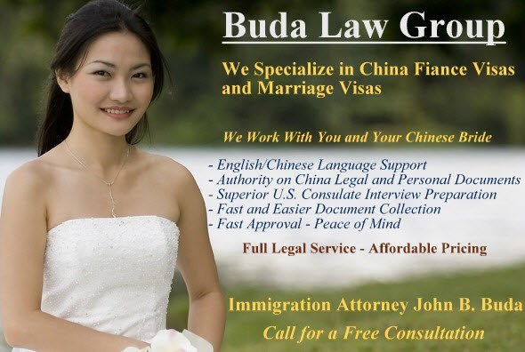China Fiance and Marriage Visa Services