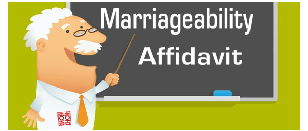Marriageability Affidavit