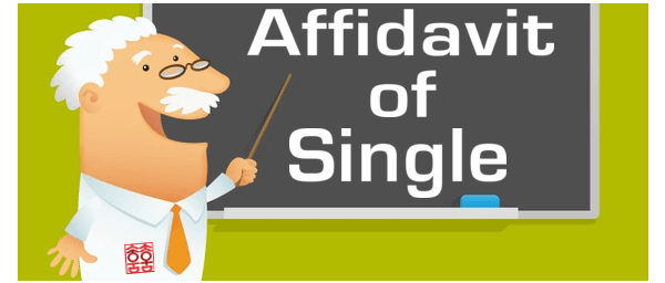 Get an Affidavit of Single