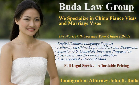 China Marriage and Fiance Visa Service